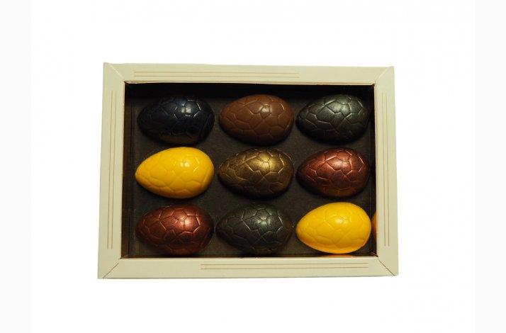 Gaveæske med påskeæg